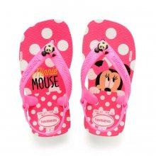 Sandália Baby Havaianas Disney Classic Minnie Feminina