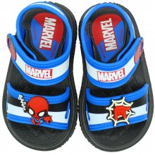 Imagem - Sandália Baby Marvel Atack Spider Man Masculina  cód: 2219820756