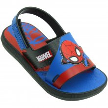 Imagem - Sandália Baby Marvel Modern Spider Man Masculina cód: 2245620756