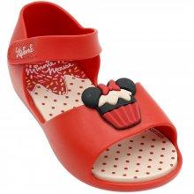 Sandália Baby Minnie Fun Cupcake Feminina
