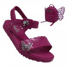 Imagem - Sandália Infantil Barbie Butterfly Feminina Com Mochila  cód: 2237051551