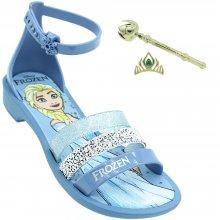 Sandália Infantil Frozen Royal Fantasy Feminina + Brinde