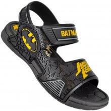 Sandália Infantil Liga da Justiça Defense Batman Masculina