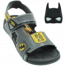 Sandália Infantil Liga Da Justiça Power Batman Masculina + Brinde