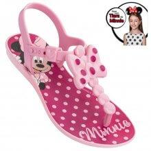 Imagem - Sandália Infantil Minnie Bow Fever Feminina Com Arco cód: 2188722257