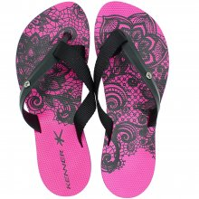 Chinelo Kenner Mix Lacy Feminina