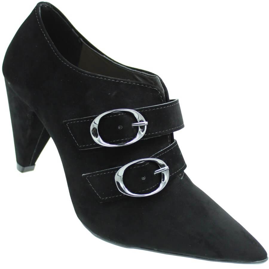 Sapato Azaleia Camurça Feminino
