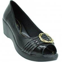 Sapato Azaleia Lev 637 Verniz Show Feminino