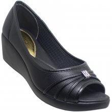 Sapato Azaléia Leve Anabela Feminino
