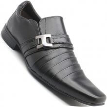 Sapato Exatos Milenium Social S/ Cadarço Masculino
