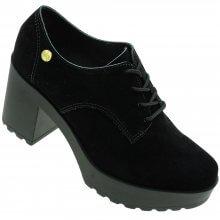 Sapato Moleca Oxford Nice Glam Nobuck Feminino
