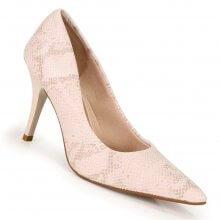 Sapato Scarpin Beira Rio Cobra Feminino