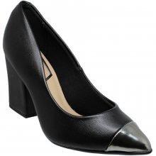 Sapato Scarpin Beira Rio Metal Glamour Feminino