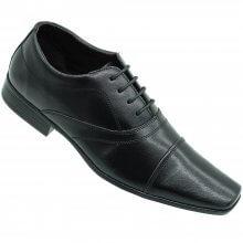 Sapato Social Bertelli Confort C/ Cadarço Masculino