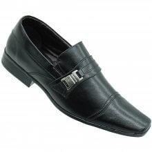 Sapato Social Bertelli Confort S/ Cadarço Masculino Preto