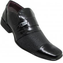 Sapato Social Da Costa Elegance Verniz Masculino