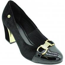 Sapato Via Scarpa Veludo Feminino
