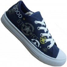 Tênis Infantil Star Chic Jeans Casual Masculino
