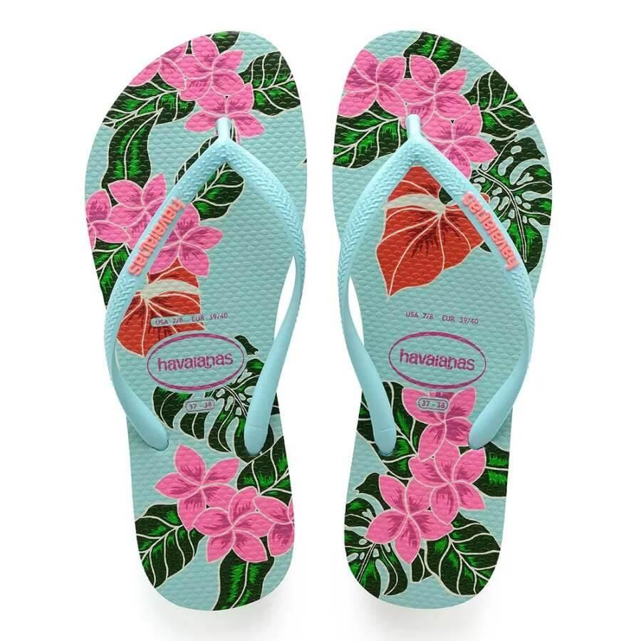 c8d558e58f Chinelo Havaianas Slim Floral Feminino - Decker Online!