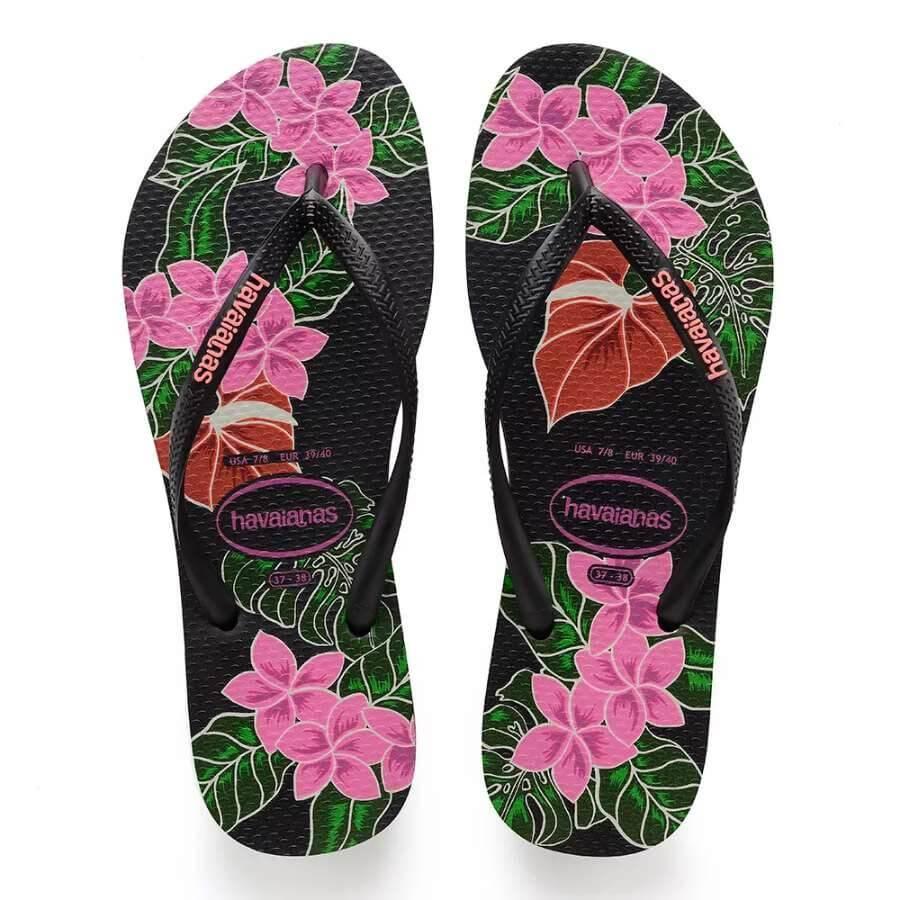 1606c2831 Chinelo Havaianas Slim Floral Feminino - Decker Online!