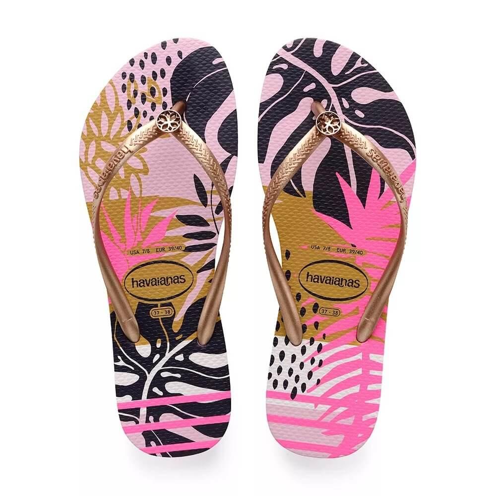 09c63a7bf Chinelo Havaianas Slim Foliage Feminino - Decker Online!
