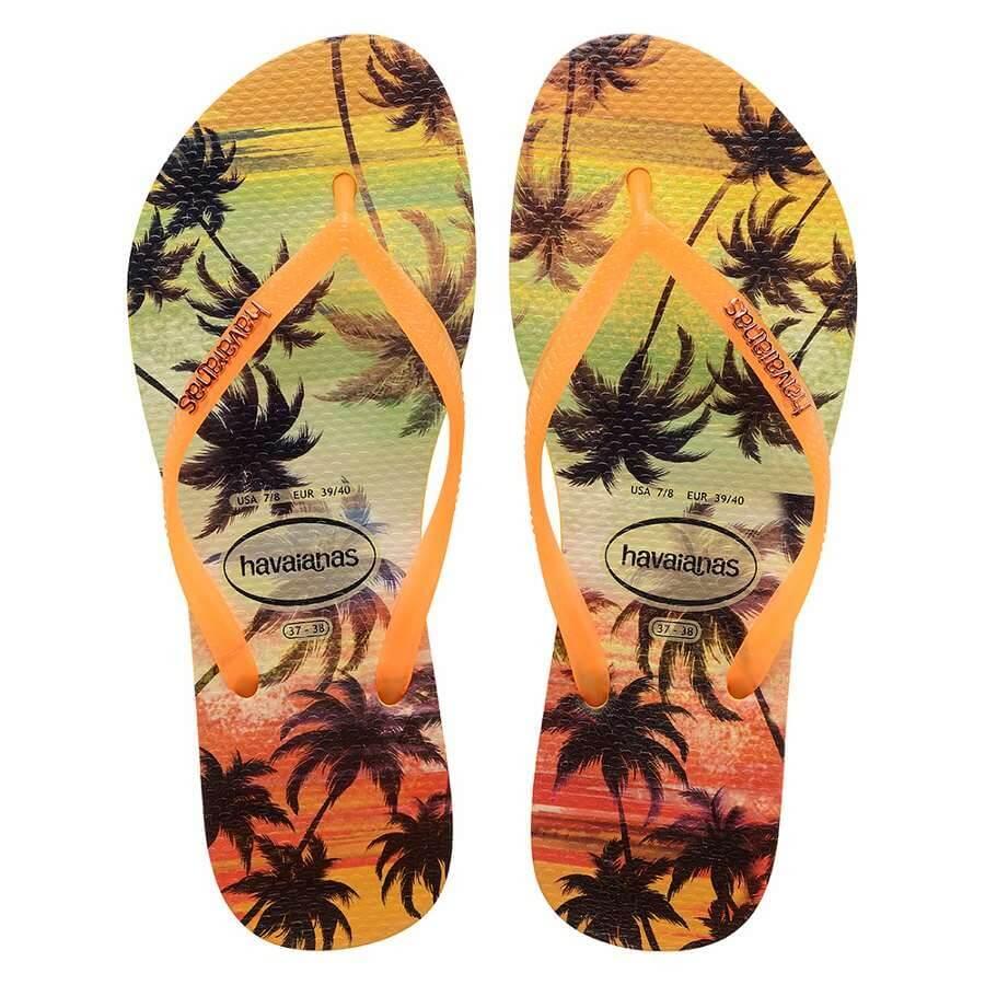 25401504e Chinelo Havaianas Slim Paisage Feminino - Decker Online!