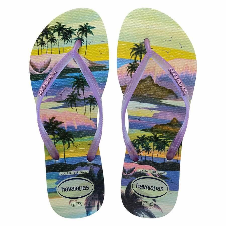 f8be3c7826 Chinelo Havaianas Slim Paisage Feminino - Decker Online!