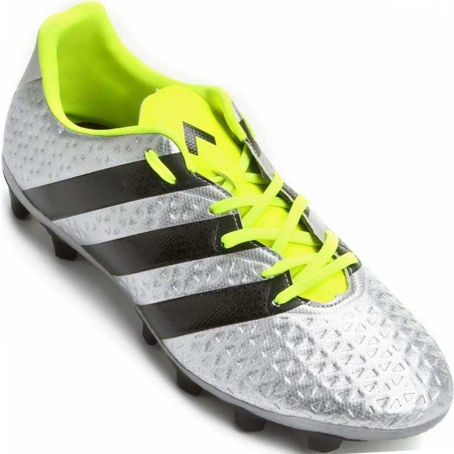 fc88af351e Chuteira Adidas Ace 16.4 FXG Campo Masculina - Decker Online!
