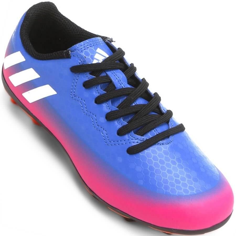a1a52c69dbf Chuteira Adidas Messi 16.4 FxG Campo Masculina Azul - Decker!