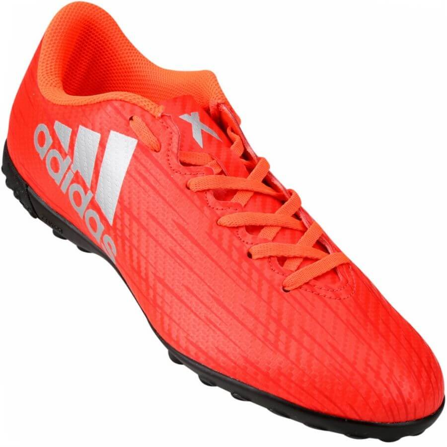 Chuteira Adidas X 16.4 TF Society Masculina - Decker Online! 766dc88e96afc