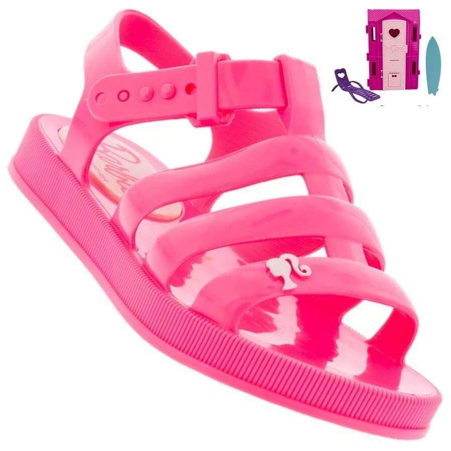 0805cd8c9555 Sandália Infantil Barbie DreamHouse Feminina + Brinde - Decker!