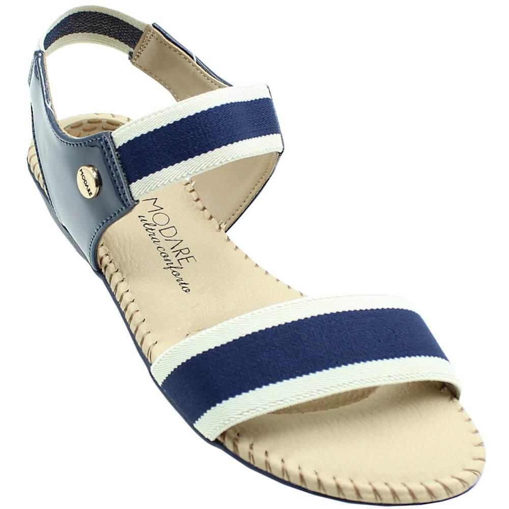 d383798c7 Sandália Modare Verniz Premium Elástico Feminina - Decker!