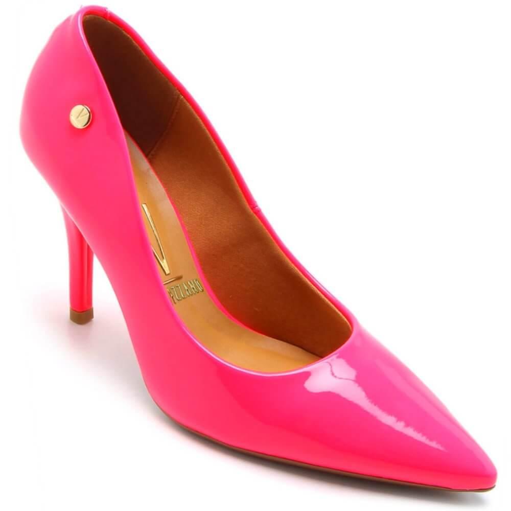 97244e1073 Sapato Vizzano Scarpin Verniz Premium Fluor Feminino - Decker!