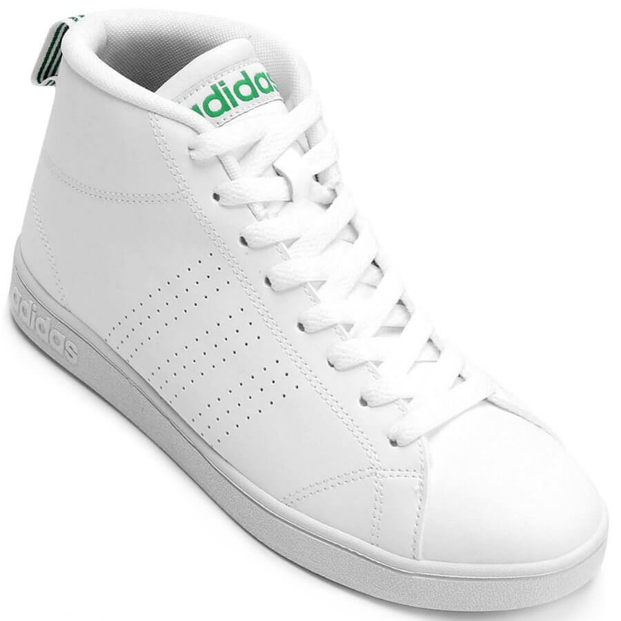 372622bb9 Tênis Adidas Advantage Clean Mid Cano Alto Masculino - Decker!