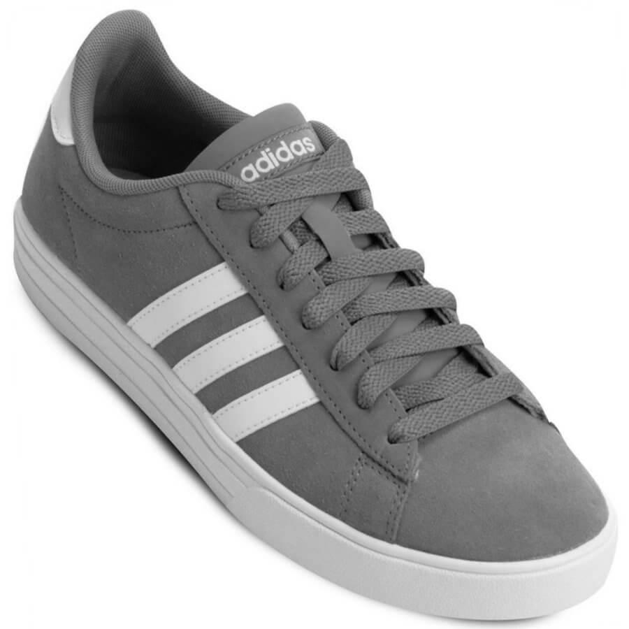 Tênis Adidas Daily 2.0 Casual Masculino - Decker Online! b3ee1a200f742