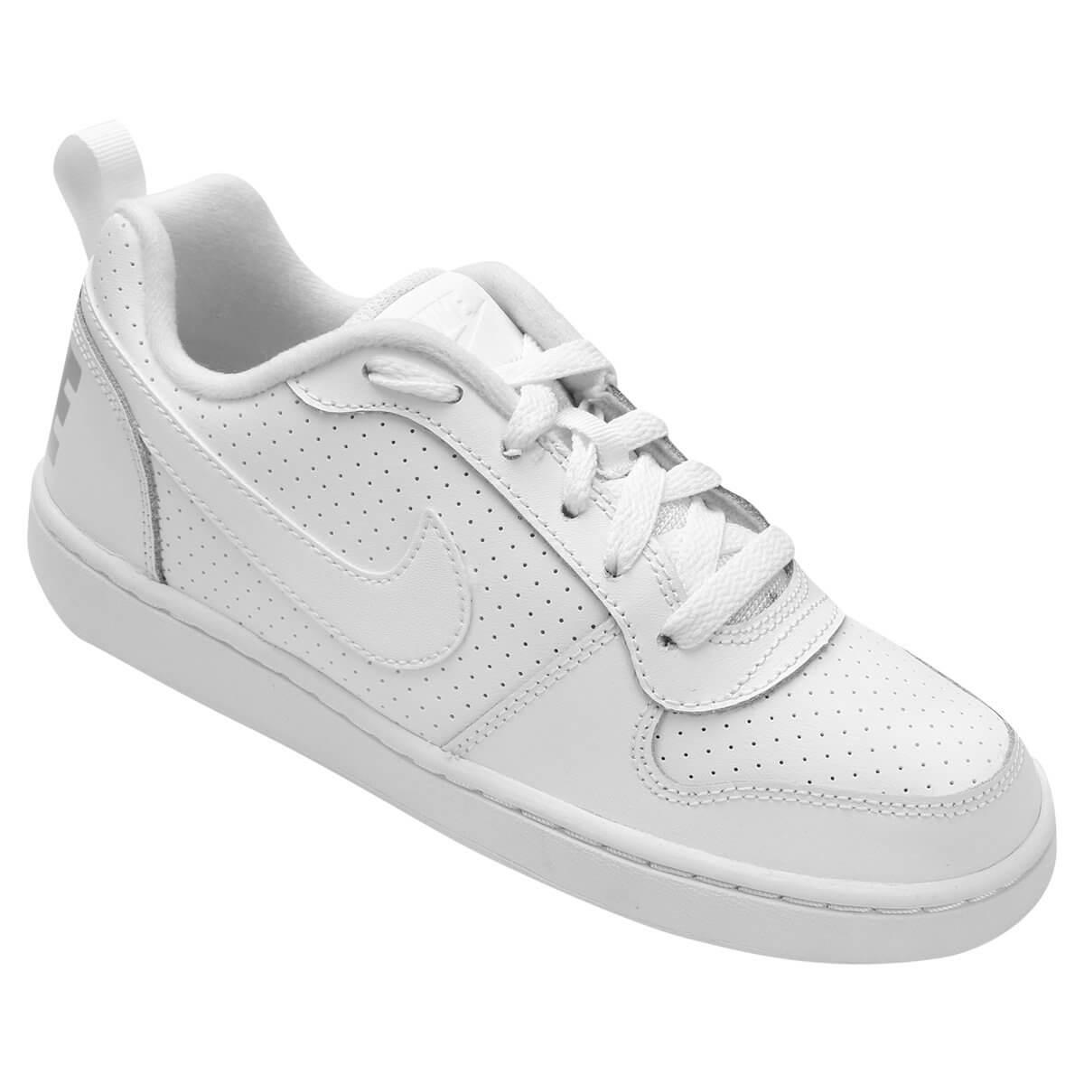 8199bc8547f Tênis Infantil Nike Court Borough Low Masculino - Decker Online