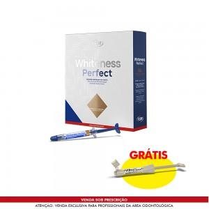 Imagem - CLAREADOR WHITENESS PERFECT KIT 16% + GRÁTIS VITTRA APS UNIQUE - FGM (C/ 01KIT)