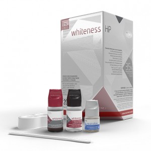Imagem - CLAREADOR WHITENESS HP 35% KIT 03 PACIENTES COM TOP DAM -  FGM (01 KIT)