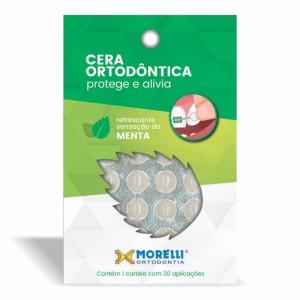 Imagem - CERA ORTODÔNTICA DE PROTEÇÃO MORELLI - 35.33.002 (C/ 01 CARTELA)