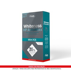 Imagem - CLAREADOR WHITENESS HPAUTOMIXX 35% 01 PACIENTE - FGM (C/ 01KIT)