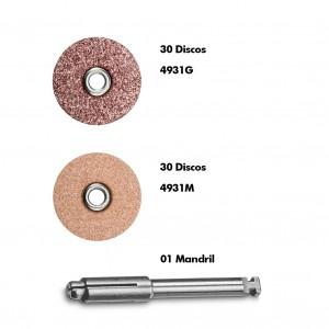Imagem - KIT DISCO SOF-LEX POP-ON C/60 + MANDRIL - 3M (KIT)