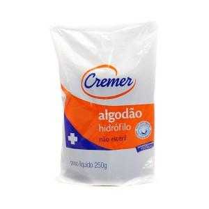Imagem - ALGODÃO HIDRÓFILO 500G - CREMER (C/ 01UN)