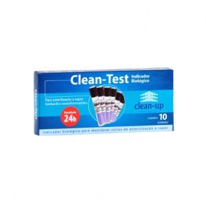 Imagem - INDICADOR BIOLÓGICO CLEAN-TEST - CLEAN-UP (CX C/ 10UN)
