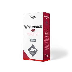 Imagem - CLAREADOR WHITENESS HP 35% KIT + BARREIRA TOP DAN - FGM (C/ 01KIT)