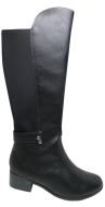 Bota Montaria Feminina Comfortflex 1849304 Neoprene Preto