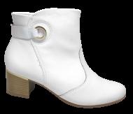 Bota Cano Curto Comfortflex 1899301 Branco