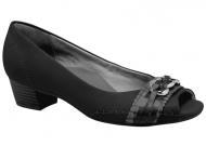 Sapato Peep Toe Campesí Corrente L3443 -  Preto