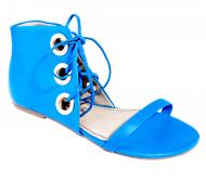 Sandália Rasteira Karuline 3421 - Azul