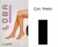 Meia Lupo 3/4 Mini Lu Básica Fio 20 5510