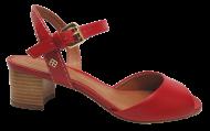 Sandália Couro Cristófoli 172260 Vermelha